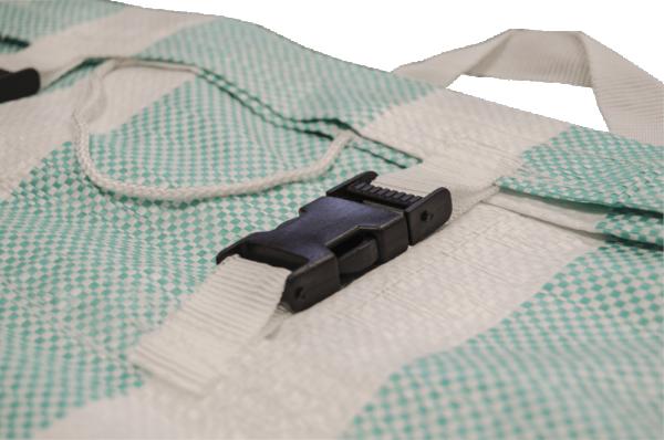 PP/PE Laundry/Route Bags Clip Closure